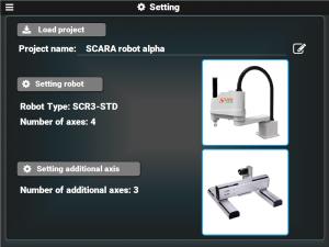 Robot Controller RMX Setting