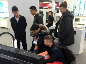 RMX and WMX2 Demo booth LASER World of PHOTONICS China 2016 exhibition